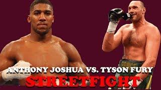 Der Streetfight von Tyson Fury und Anthony Joshua | Alle Infos!