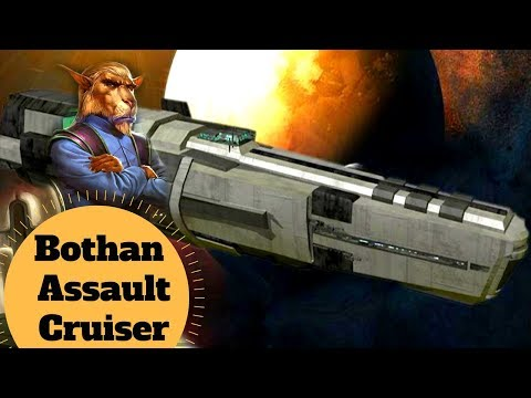 Galactic Conquest or Planetary Defense?  - Bothan Assault Cruiser Explained - Star Wars Ships Lore
