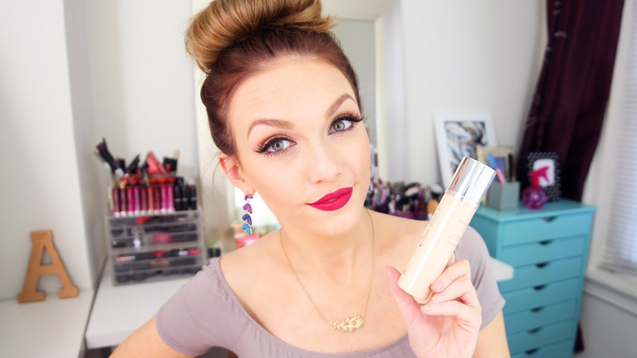 Review + DEMO | Dior Diorskin Airflash Spray Foundation - YouTube