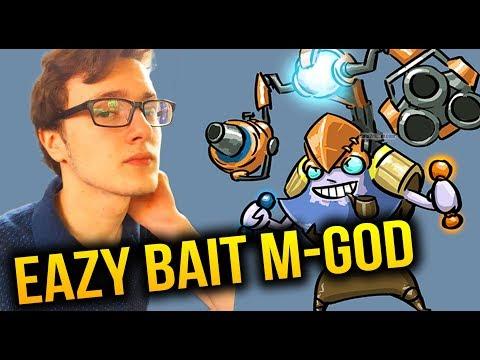 LOL, HOW To BAIT Miracle- [Tinker] Dota 2 7.07B thumbnail