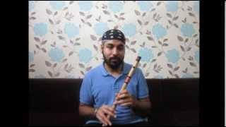 Indian Flute (Bansuri) Basics - Part 1 : Understanding the bansuri