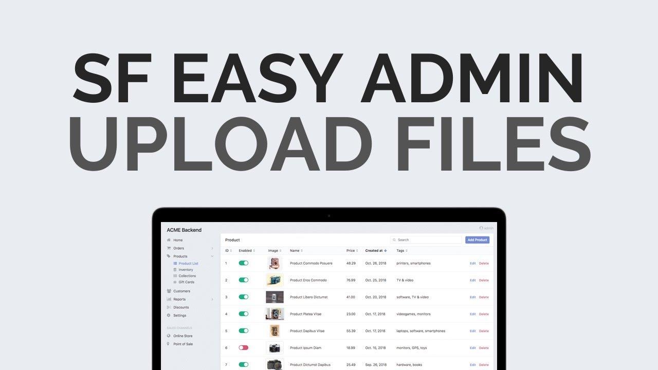 Uploading files using Vich Bundle in Symfony 4 Tutorial