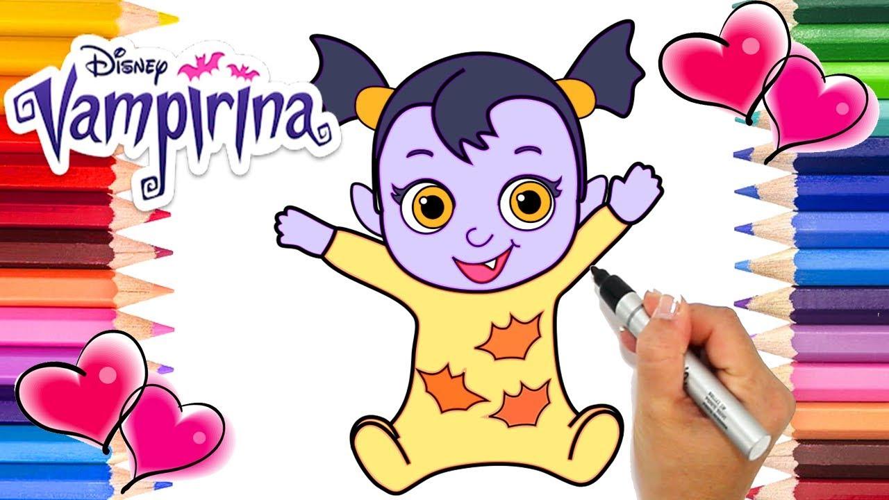 Baby Nosy Vampirina Coloring Page Vampirina Coloring Book
