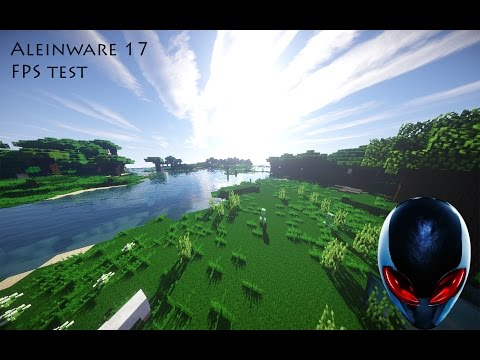 Alienware 17 Extreme minecraft test