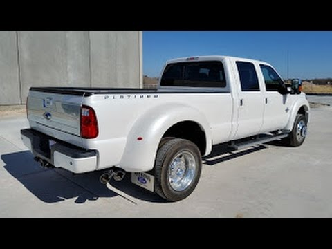 All New 2016 Ford F450 Platinum Edition Power Stroke