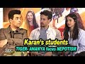 Karan's NEW students TIGER & ANANYA face NEPOTISM