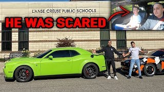 SURPRISING A SUBSCRIBER BY PICKING HIM UP IN MY HELLCAT REDEYE!