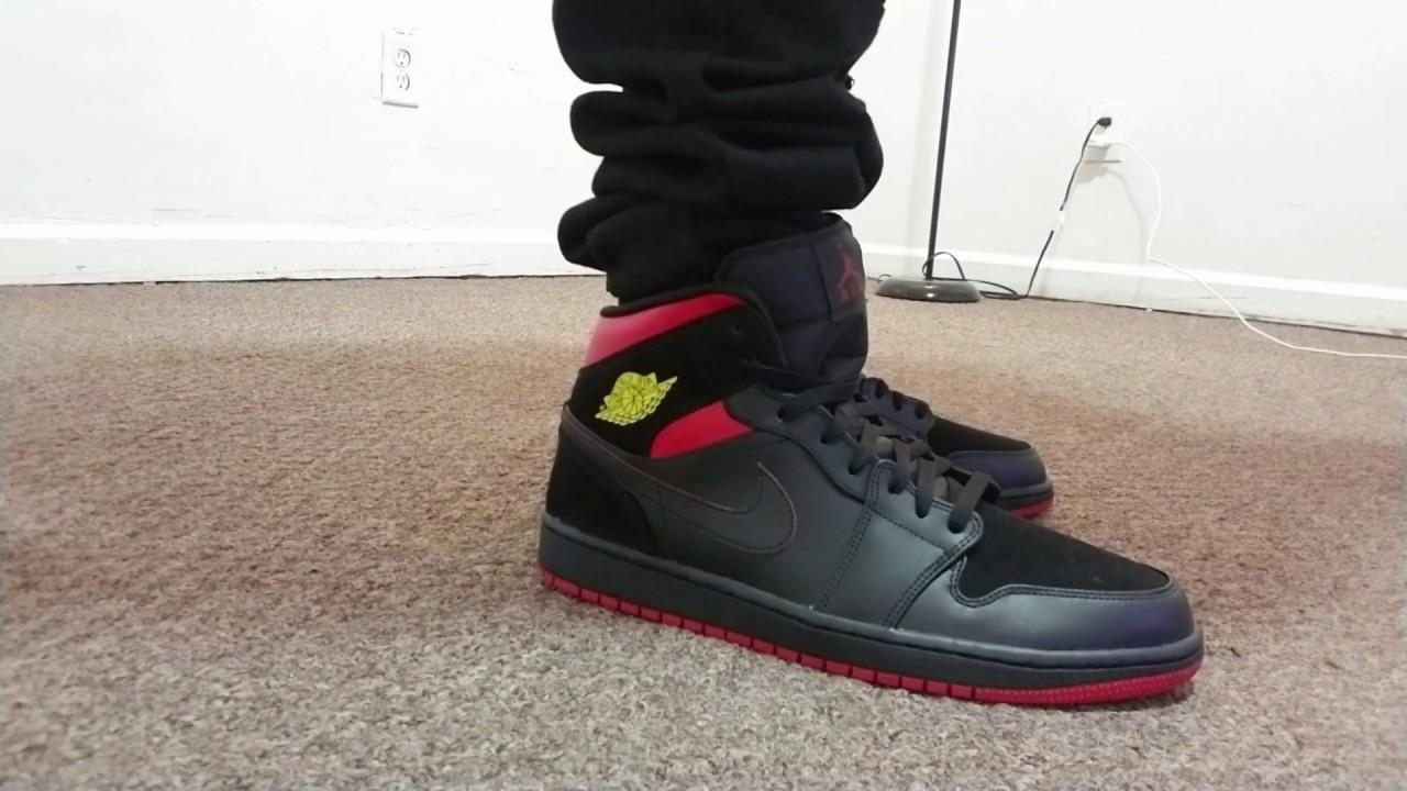 promo code 71eb5 443a2  Nike  Airjordan1midlastshot  onfeet
