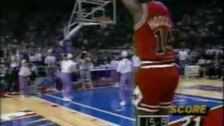 The Best NBA 3 Point Shootout - 19 In a ROW!  Craig Hodges - 1991 - All Star Saturday