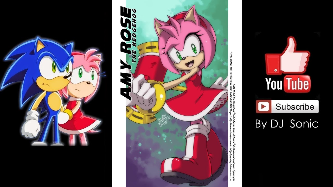 Sonic The Hedgehog: Series - Amy Rose Voice Sound - YouTube