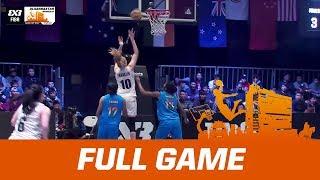 New Zealand v India | Full Game | FIBA 3x3 Asia Cup 2017