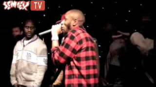 Kanye, De La Soul, Nas, Will.I.Am, Mos Def & Damon Albarn Cypher on stage pt. 1