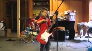 Quinn Brothers: Kids playing rock and roll in their kid band.  ROCK!!!!