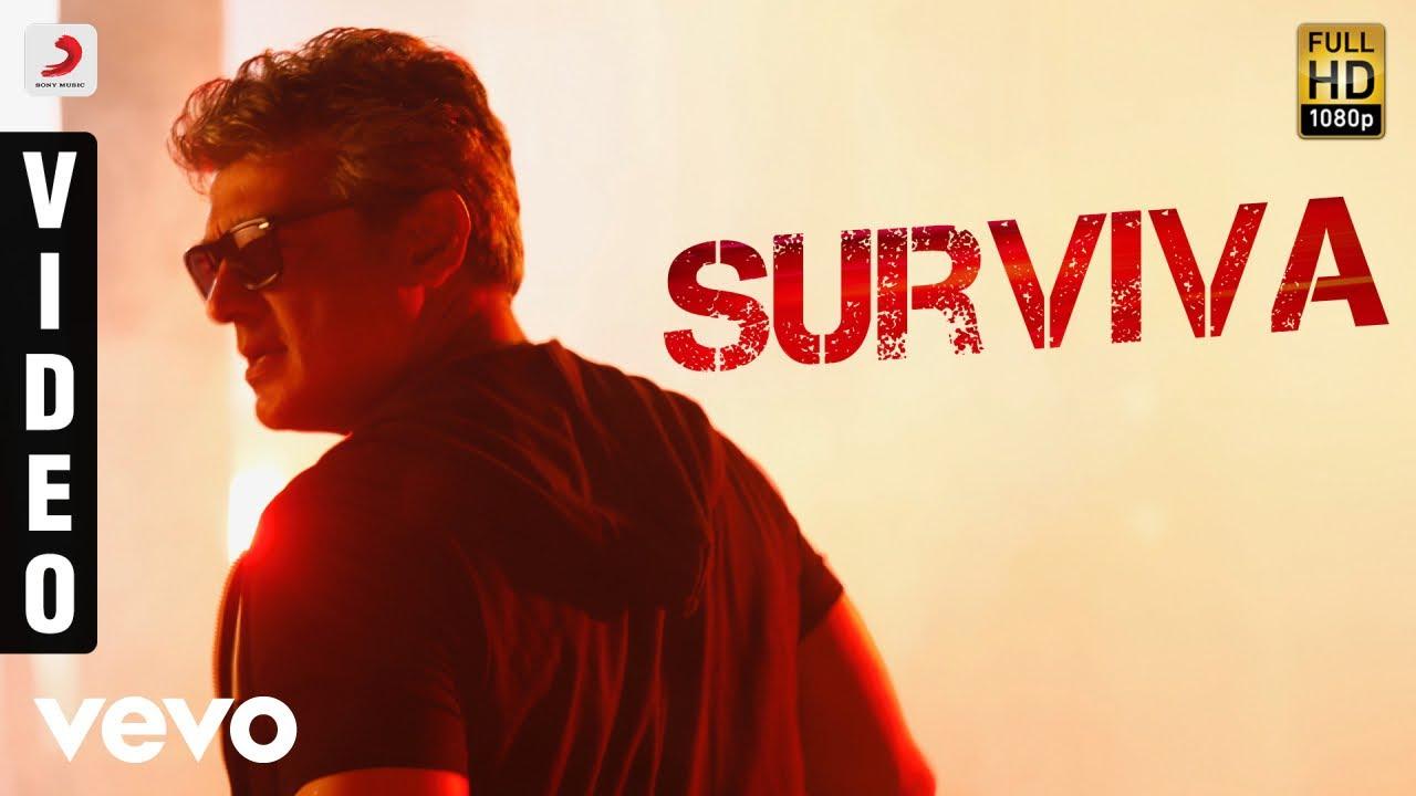 Download Vivegam - Surviva Video | Ajith Kumar | Anirudh | Siva
