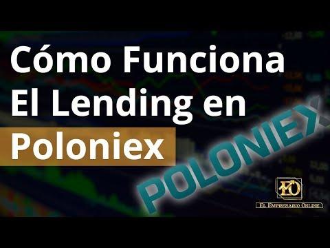 Cómo Funciona El Lending en Poloniex