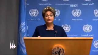 Dilma comete gafe na ONU e pede tecnologia para estocar o vento