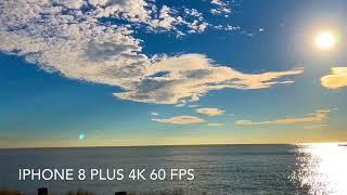 iPhone 8 Plus 4K 60FPS time-lapse
