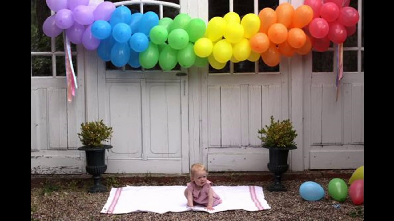 Easy Diy ideas for balloon decorations - YouTube