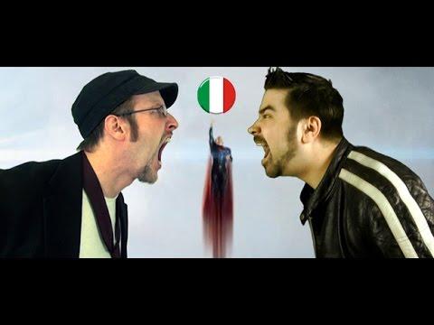 Nostalgia Critic feat. Angry Joe - L'Uomo D'Acciaio [Sub Ita]