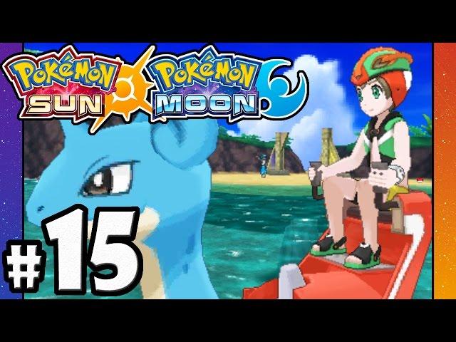 Pokemon Sun and Moon - 3DS Gameplay Walkthrough PART 15 - Brooklet