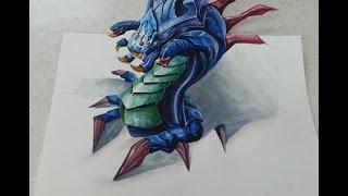 Trick art- lol baron!!!!