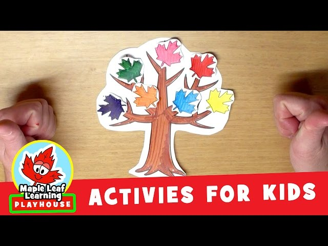 Make a Tree Activity for Kids | Maple Leaf Learning Playhouse