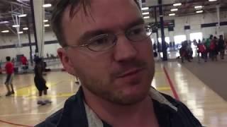 Секция баскетбола в США.
