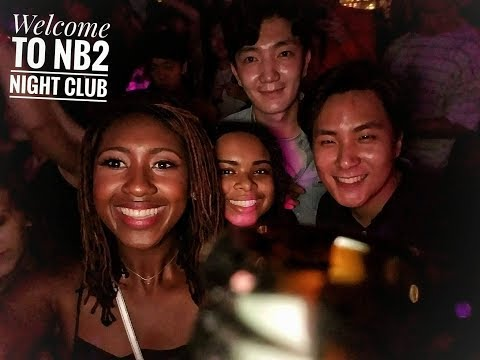 Life in Korea | 1st night out | NB2 Night club