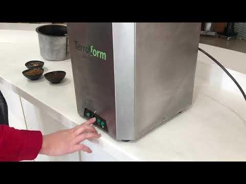 TERRAFORM KITCHEN Processadora Residuos Organicos RESIDENCIAL E COMERCIAL 2Kg e 5Kg