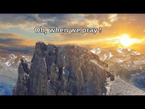 When we pray w/lyrics - By Tauren Wells
