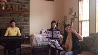 三寸天堂   鍵盤 - 黃逸, 二胡 - 無雙 , 琵琶- Tracy, 竹笛 - 漢威