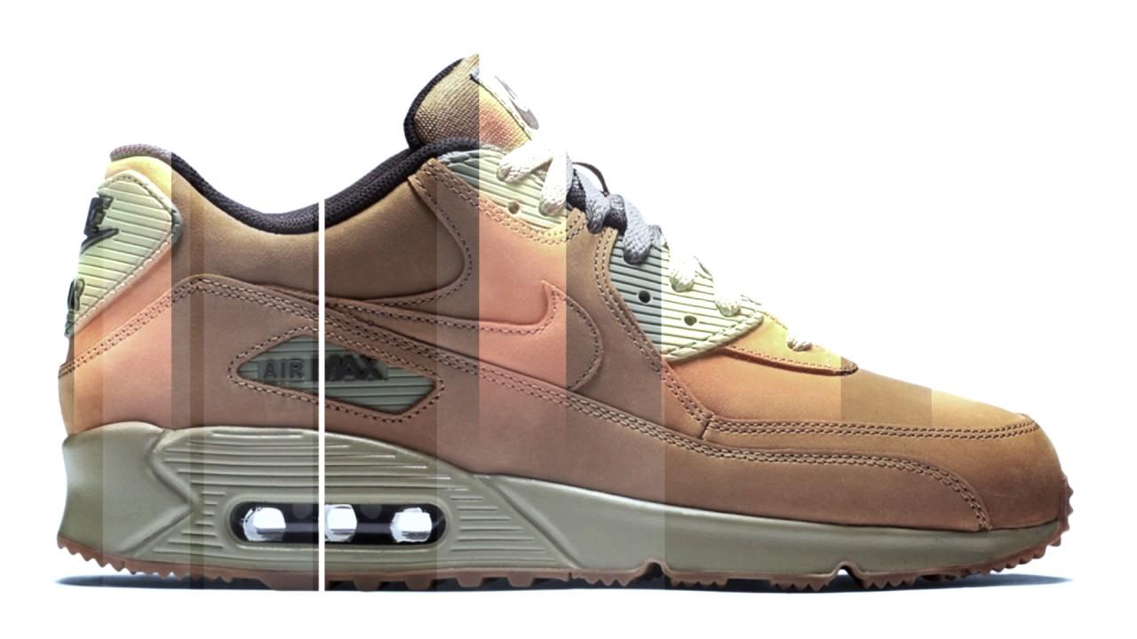 4881cc605983d Nike Air Max 90 Winter Premium Bronze Wheat - YouTube