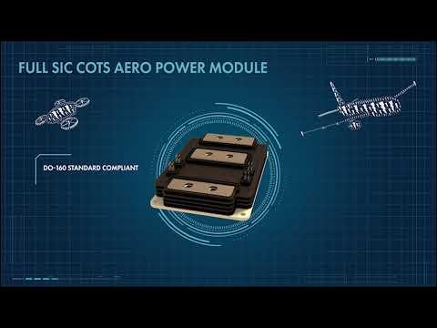 COTS Aero power module for e-aircraft - Thales