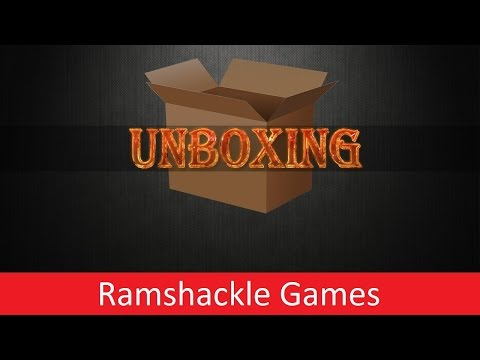 TBMC - Gaming Review - Ramshackle Games Unboxing