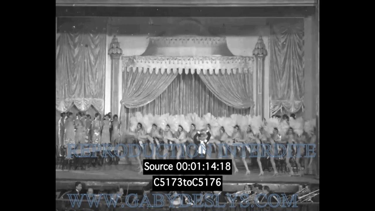 Download RARE - Paris aux étoiles - 1928 - Revue Moulin Rouge, Harry  Pilcer, The Dolly Sisters, Jane Aubert