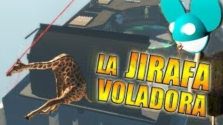 - LA JIRAFA VOLADORA Goat Simulator