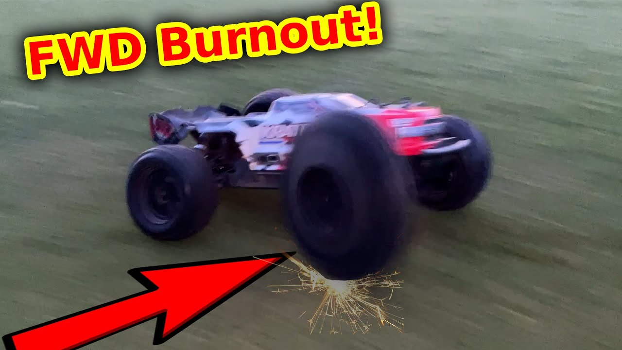 RC Car 4WD System Failure - this is why FWD sucks!!
