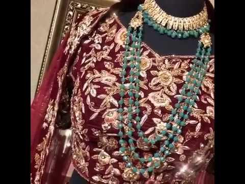 Indian Wedding Ethnic Bridal Lehenga Choli Embroidered