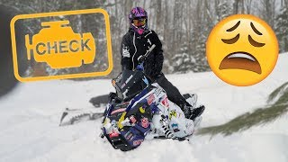 BLOWING UP MY BRAND NEW SNOWMOBILE...