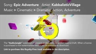 KabbalisticVillage - Epic Adventure [AudioJungle Royalty-Free Music]