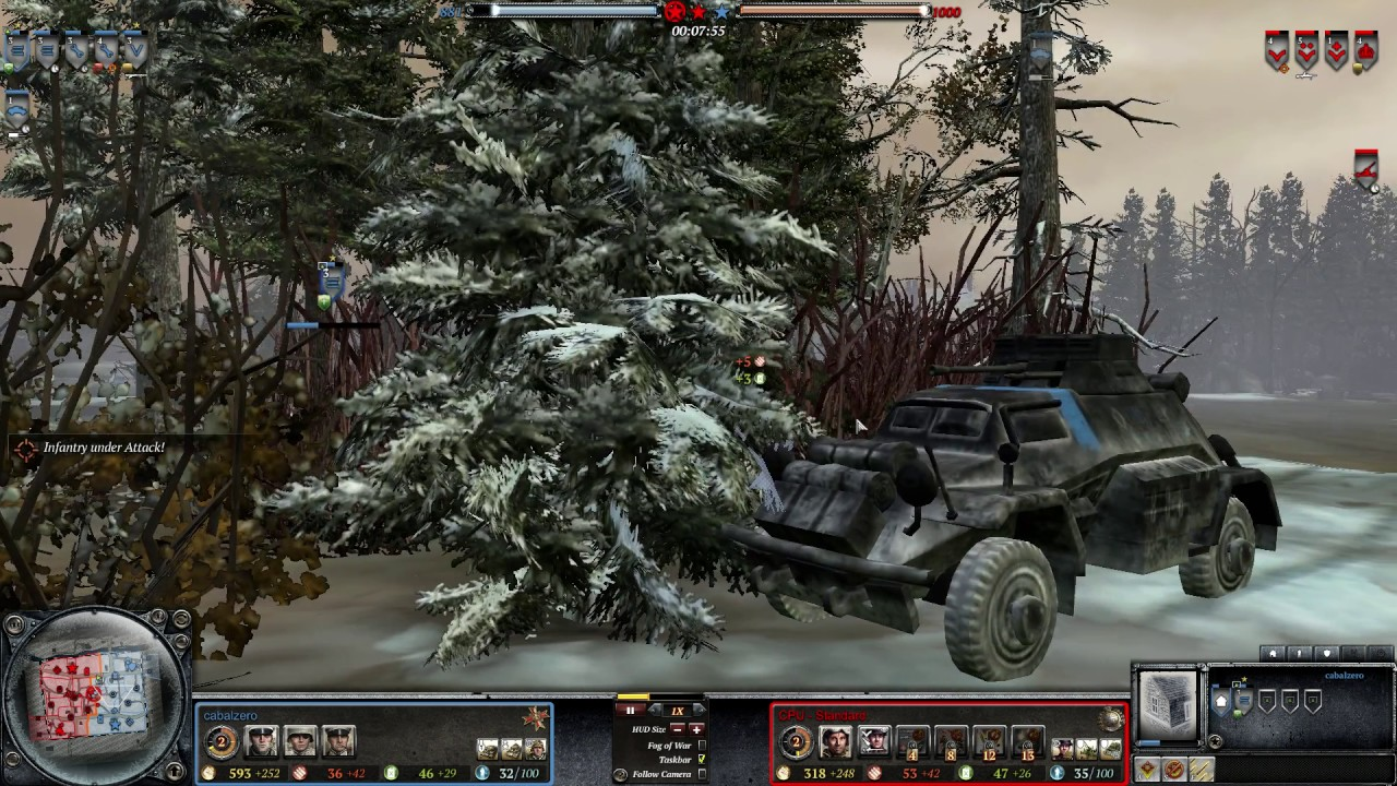 Company Of Heroes 2 1 V 1 Westwall Wehrmacht Vs Brits Replay