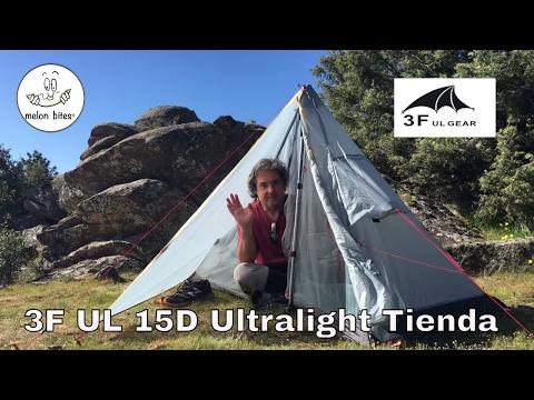 Naturehike Tagar 1 v 3F UL Gear Tent Test