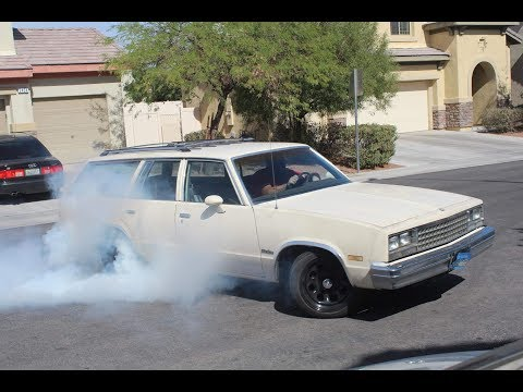 The Family Burnout gbody Wagon gets a 4l60 with a TransGo shift improvement kit