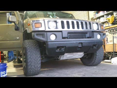 Hummer H2 Window Regulator Replacement | How To