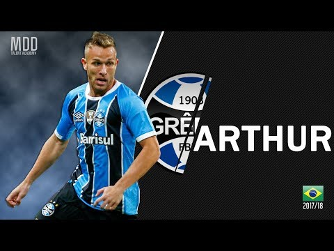 Arthur   Gremio   Goals, Skills, Assists   2017/18 - HD