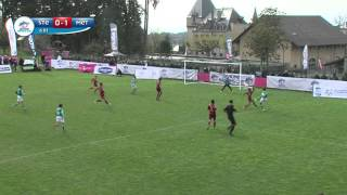 Danone Nations Cup France : Evian : Summary of the final