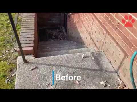 Concrete & Brick cleaning service Maryland