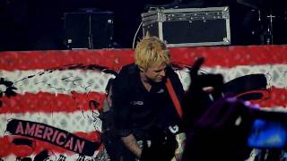 Green Day - 2000 Light Years Away [HD] live