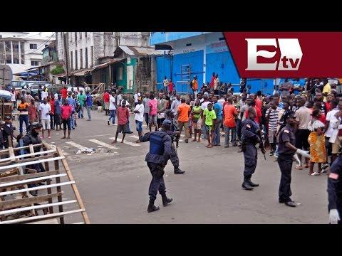 Liberia decreta toque de queda por la propagación del ébola/ Titulares