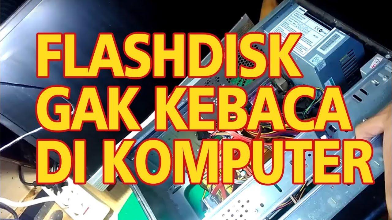 Memperbaiki Usb Port Gak Bisa Baca Flashdisk Youtube